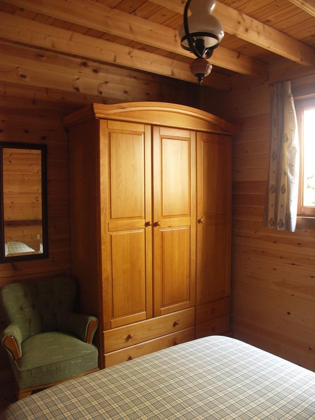 Detalle de armario en habitacion principal